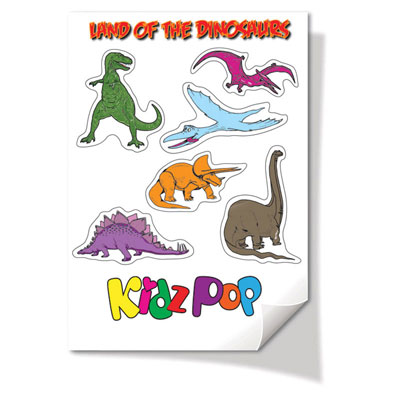 Image of A7 Size Sticker Sheets