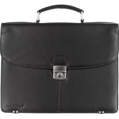 Image of Charles Dickens® leather briefcase