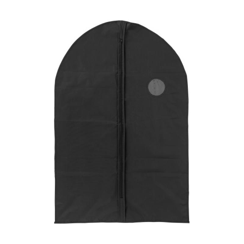 Image of PEVA garment bag with a zipper