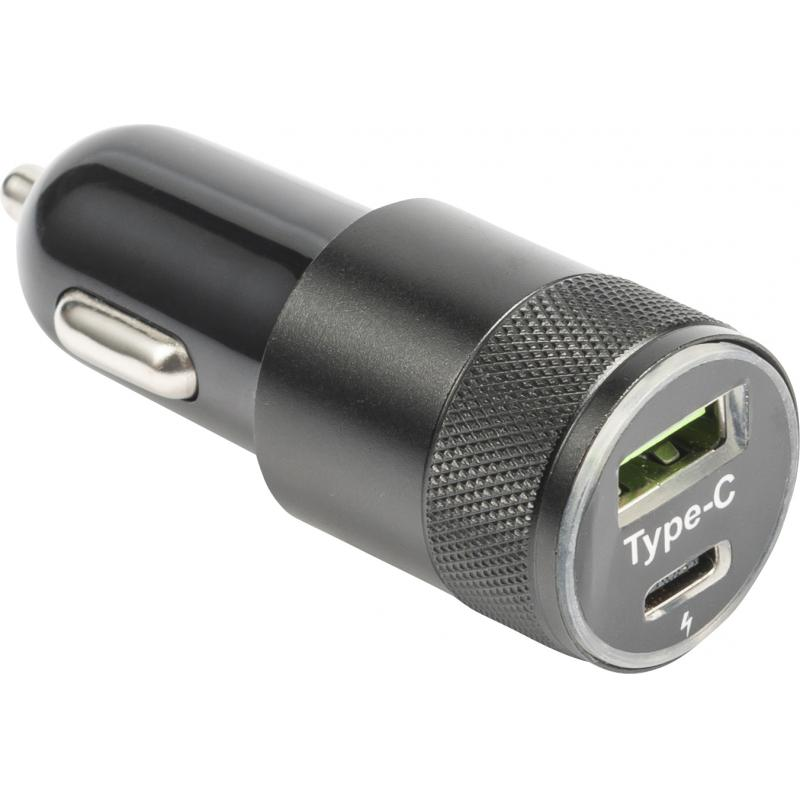 Image of USB-C car charger