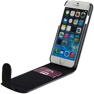 Image of Phone Flip Wallet with Magnetic Strap