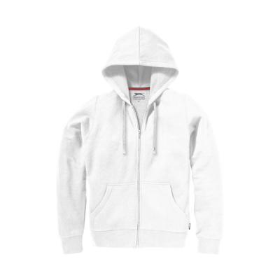 Image of Open full zip hooded ladies sweater