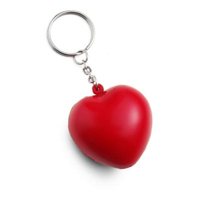 Image of Stress Heart Keyrings