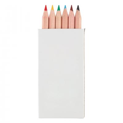 Image of Pack of 6 Small Colouring Pencils